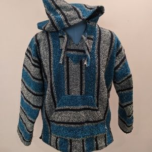 Made in Mexico Authentic Mexican Woven Hoodie